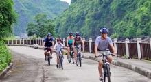 biking-on-Cat-Ba-island by bhaya cruises