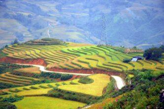 Muong Hoa Valley Sapa, Vietnam