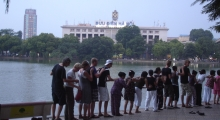 tour 6 - day 11 - by hoan kiem lake