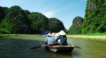 Boat ride, Tam Coc