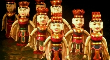 tour 6 - day 11 - water puppet show