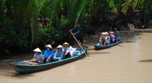 tour 6 - day 3 - rowing boat