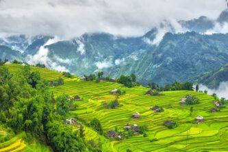 Weather patterns throughout Vietnam