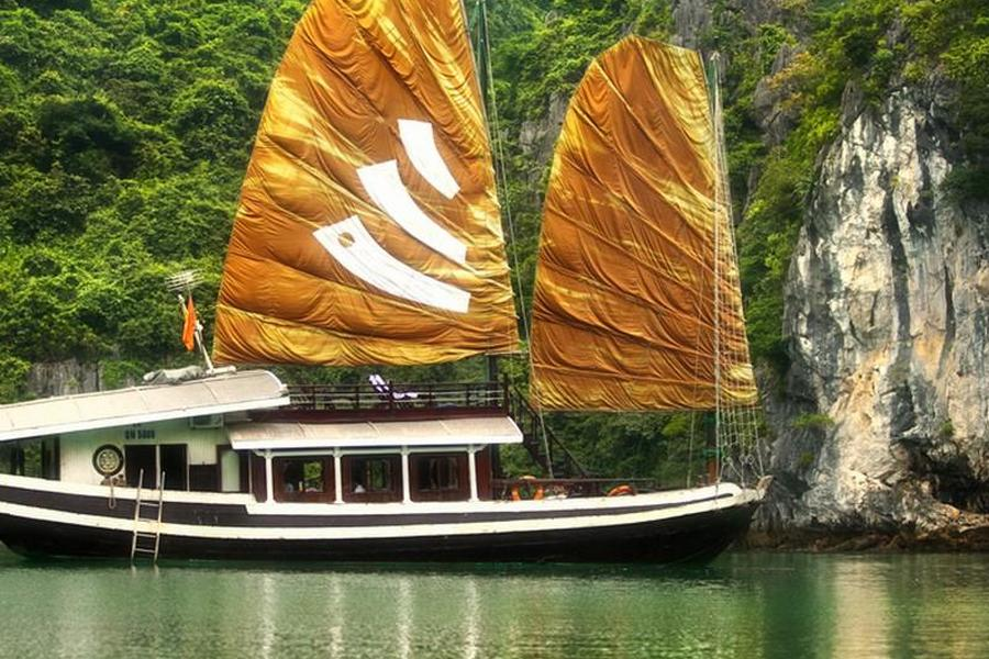Legend Halong Private Cruise Halong Bay Vietnam